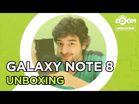 Samsung Galaxy Note 8 - UNBOXING | ZOOMBOXING