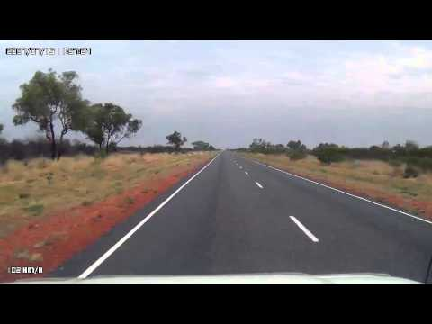 Video 271-Stuart Highway - Wycliffe Well to Taylor Creek