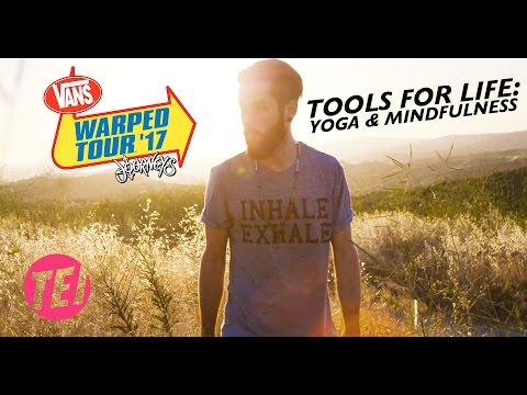 Yoga Classes On Vans Warped Tour! Tools For Life: Yoga & Mindfulness in a Chaotic Environment