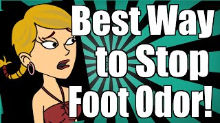Best Way to Stop Foot Odor