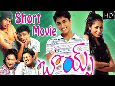 Boys Telugu Short Movie | Boys Telugu Movie In 30 min | Mini Movies | Siddharth, Bharath, Genelia