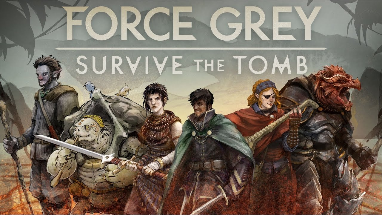 Download Force Grey: Survive the Tomb, Part 1
