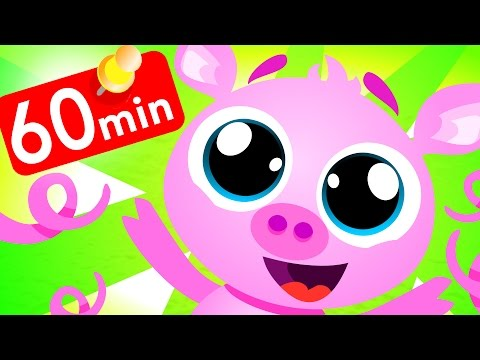 Baby Pigs Oink Oink! Compilation by Little Angel: Nursery Rhymes and Kid's Songs
