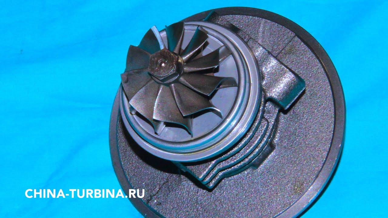 Диагностика проверка НОВОГО китайского картриджа турбокомпрессора турбины JP60S