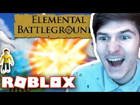 BRAND NEW ROBLOX GAME ELEMENTAL BATTLEGROUNDS!! / RussoPlays