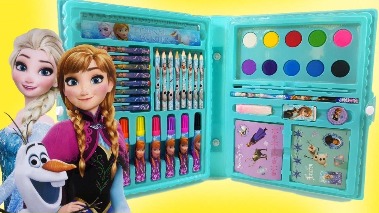 Jogos De Pintar Frozen Colorir Vestido De Princesa Ana E Rainha