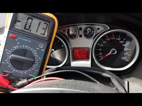 Муфта Haldex 4. Ток, потребляемый модулем AWD в движении.