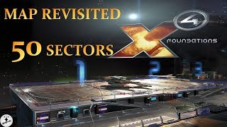 X4 FOUNDATIONS - MAP REVISITED 50 SECTORS