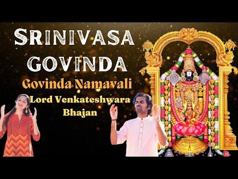 Srinivasa Govinda Sri Venkatesa Govinda (Original Song) - Aks & Lakshmi