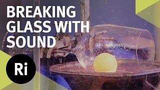 Smashing A Glass With Sound