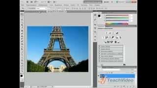 Как изменить фон с помощью Photoshop?(В данном видеоуроке мы расскажем как изменить фон на фотографии с помощью Photoshop. http://youtube.com/teachvideo - наш канал..., 2011-09-12T15:26:19.000Z)
