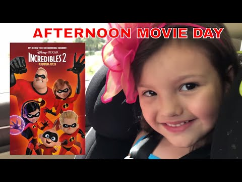 Trip to the Movies to see Incredibles 2 - Best Movie Ever