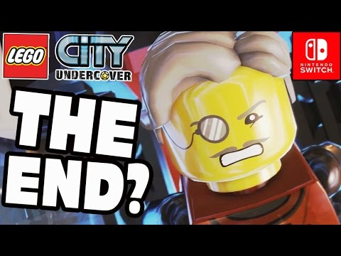 Lego City Undercover Part 29 Final Boss & ENDING! co-op Gameplay (Nintendo Switch)