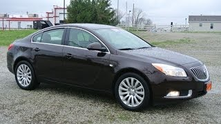 2011 Buick Regal CXL Turbo Sedan for sale Dealership Dayton Troy Piqua Sidney Ohio | 26941A