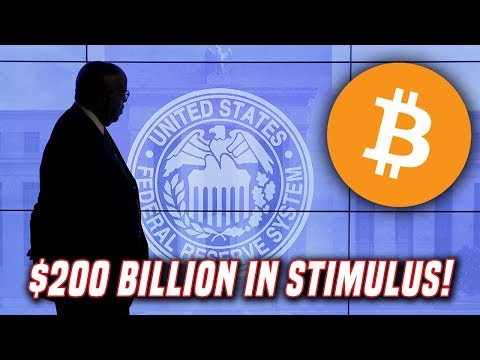 Bitcoin Gains As FED Injects $200 Billion Into U.S. Financial System