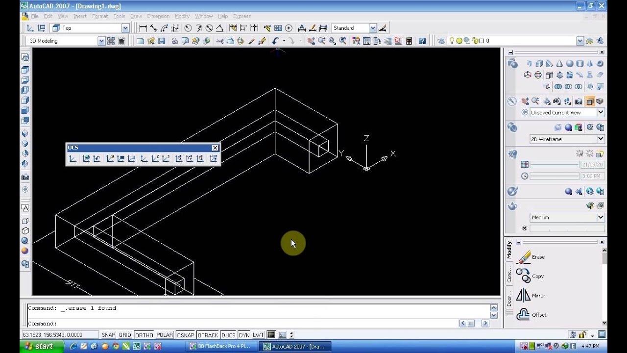 Bài 4 hướng dẫn vẽ Autocad 3D Ghi kich thước