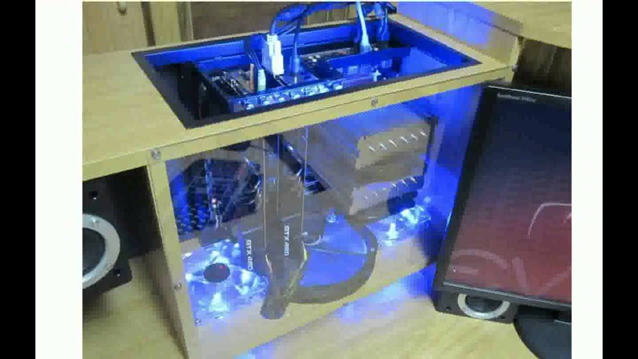 Uncategorized custom computer tables for Unique computer desk ideas