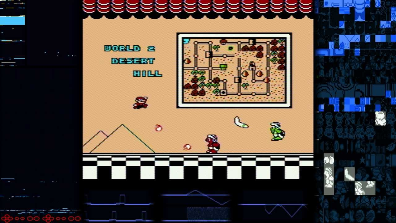 NES Memory Visualization: Super Mario Bros  3