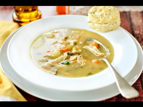 Homemade Turkey Pot Pie Soup In 30 Minutes
