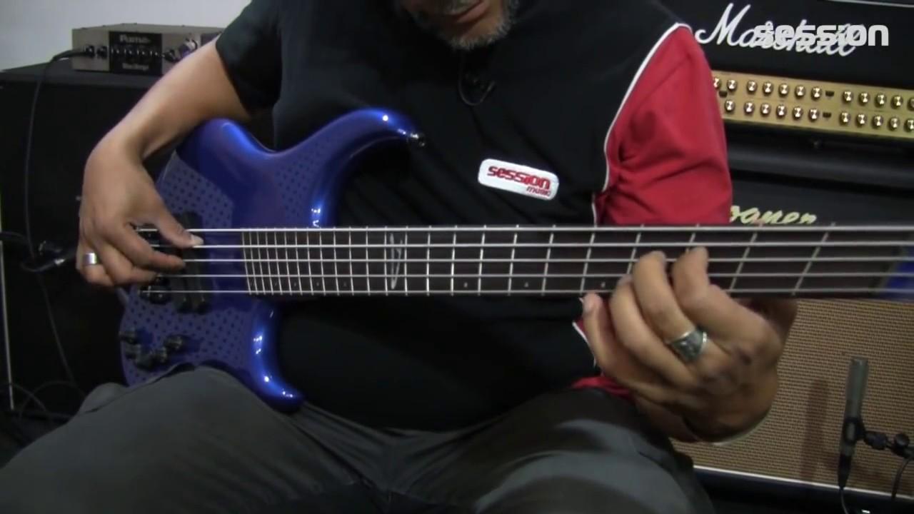 Dingwall Leland Sklar Signature 5 String BB - YouTube