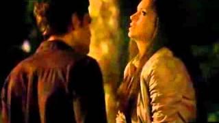Elena & Stefan first kiss in German ♥