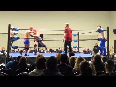 Western Lions(MRB/BVD) Vs Rage & Fury - PWA Edmonton November 2015