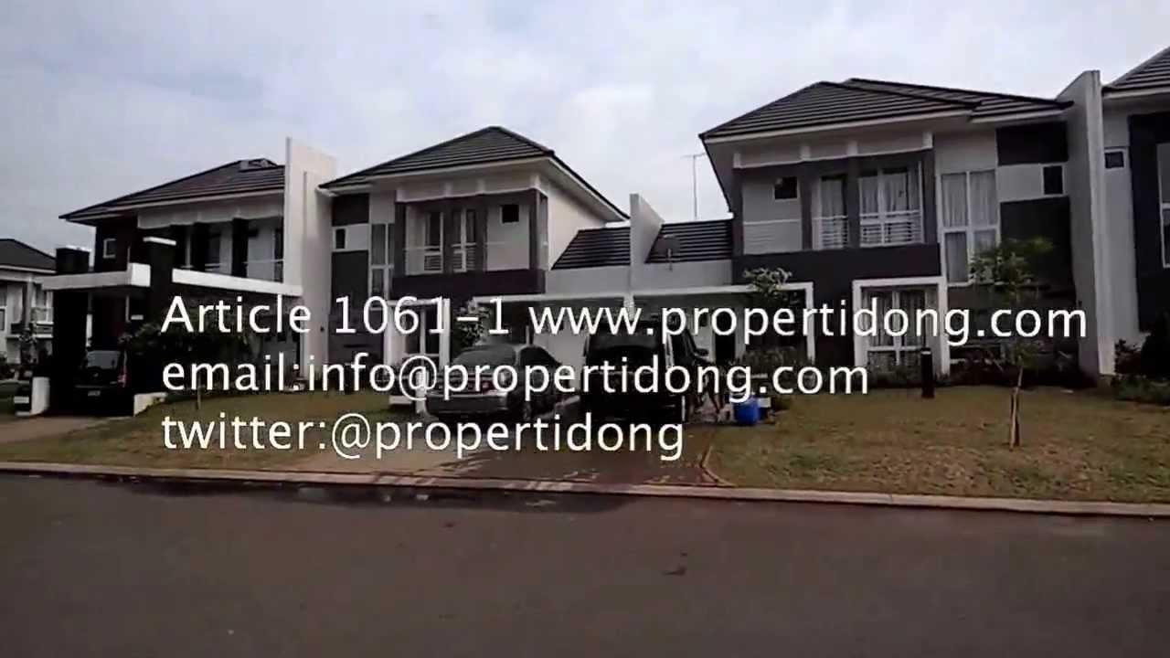 1061-1 Cari Properti Rumah di JUAL di Kota Wisata Cibubur ...