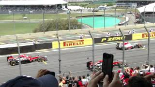 LARGADA  #GP BRASIL F1 INTERLAGOS 2011
