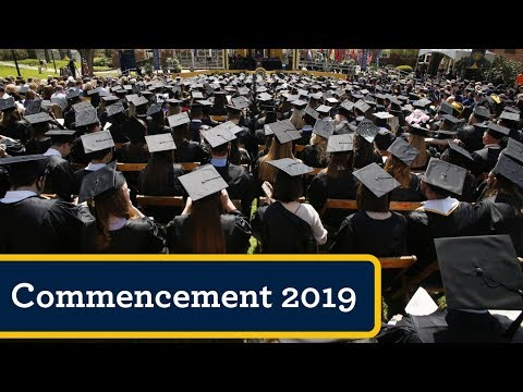 Allegheny College Commencement 2019