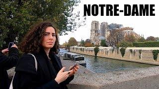 Notre-Dame de Paris Update + Quai Saint-Michel Walking Tour