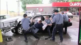 Работа Полиции в США.