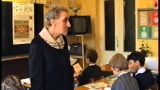 Урок чтения во 2 классе.  Сравнение. Цветкова Антонина Филипповна. 1995 год