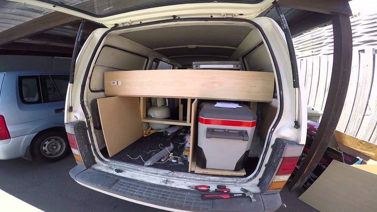 how to set up a van
