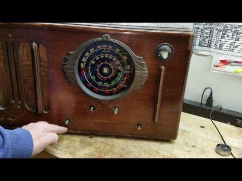 1937 WESTINGHOUSE WR-212 BC-SW Radio Part 7 of 7 Finishing Stuff