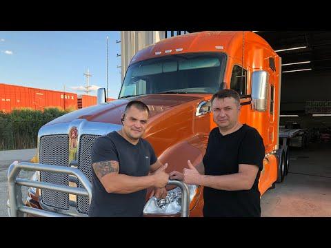 Volvo Truckers USA. Готовлю KENWORTH в дорогу