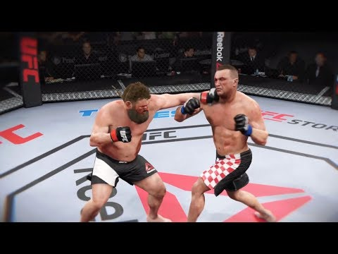 Roy Nelson Vs. Mirko Cro Cop (EA Sports UFC 2) - CPU Vs. CPU