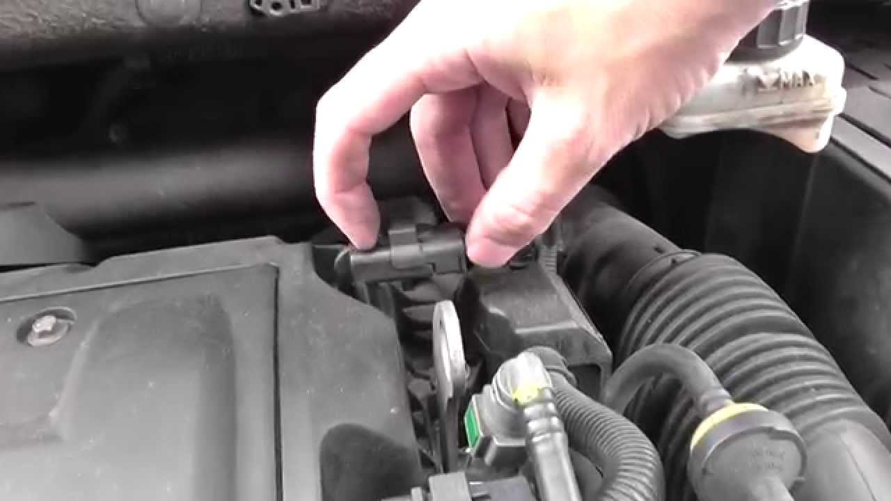 Peugeot 308 Camshaft Exhaust Sensor Location Video Youtube
