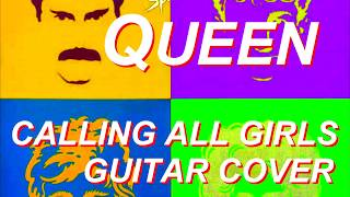 Queen - Calling All Girls - Cover