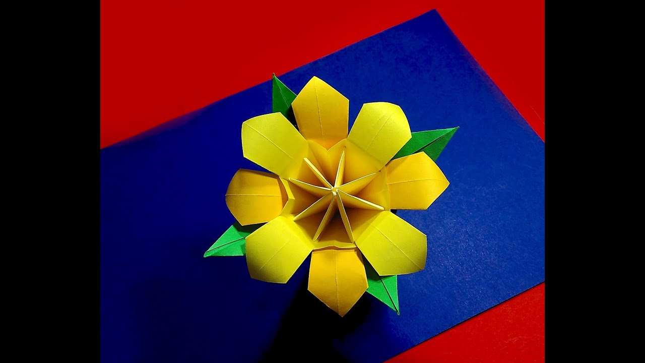 Origami Bouquet Easy Origami Flower Ideas For Christmas Decoration