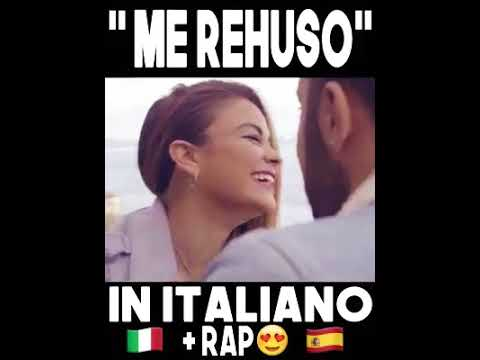 ME REHUSO /COVER EN ITALIANO + RAP 💜🕶