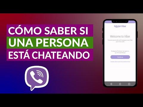 Cómo Saber si Otra Persona está Chateando por Viber en este Momento