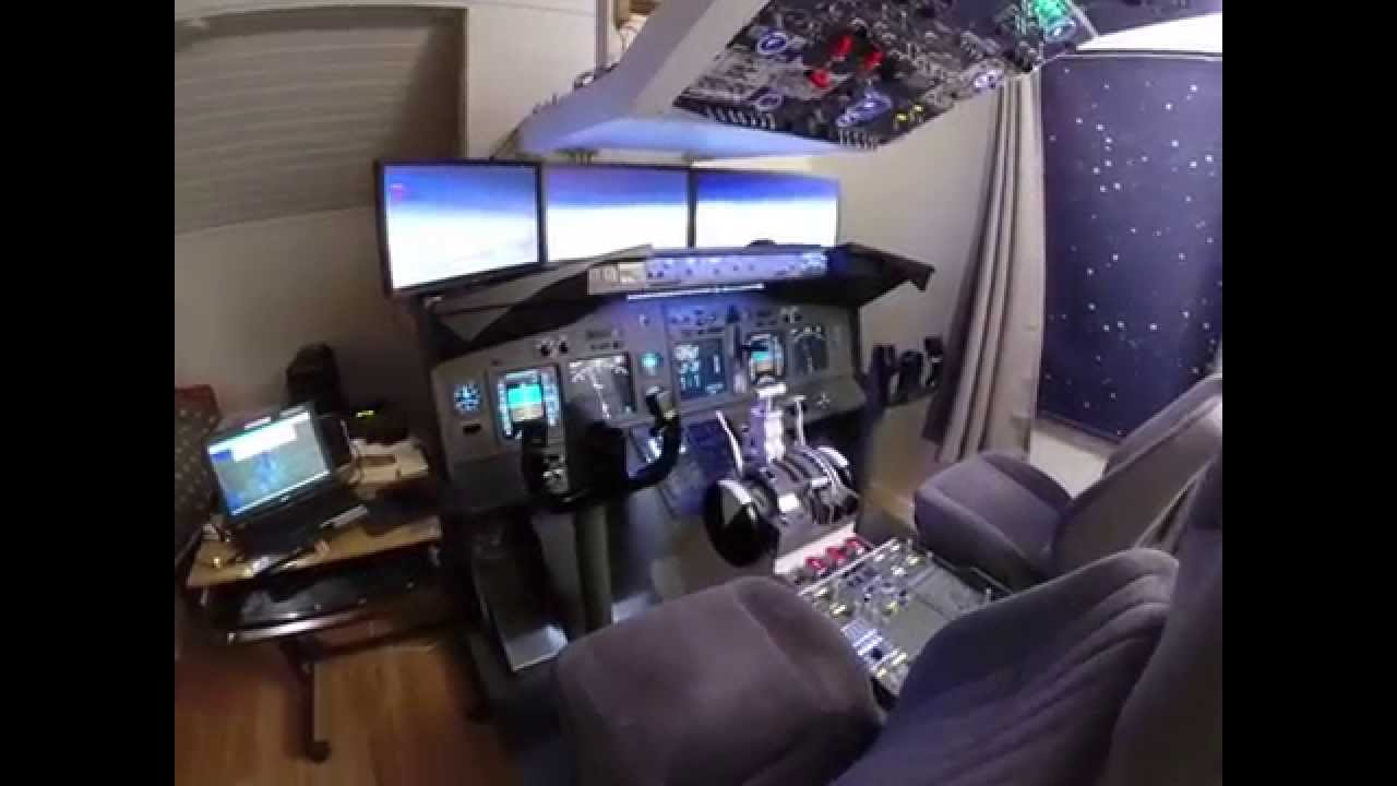 how to build flight simulator at home