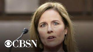 Democrats boycott committee vote on Amy Coney Barrett's nomination