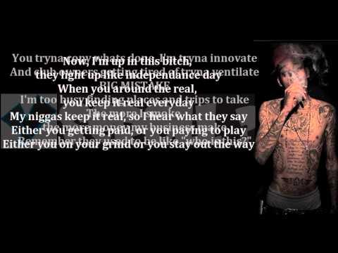 "Wiz Khalifa- ""Rooftops"" (LYRICS ON SCREEN) ft Curren$y"