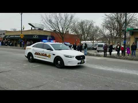 CPD CMDR Paul Bauer Funeral Procession 111th & Troy