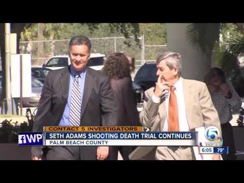 Seth Adams shooting death trial continues