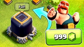 LOOK WHAT WE UPGRADED!! - Clash Of Clans - MAGIC ITEM WASTED!!