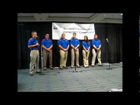 University of Florida's NAHB RCMC 2012 Team Presentation
