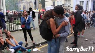 Kissing Prank - Notting Hill Carnival 2015 (GONE WILD!!!)