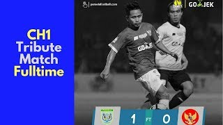 Choirul Huda Tribute Match - Persela vs Timnas All Star - Full Time